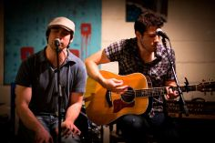 Chris Hendricks @ Open Eye Cafe | Chapel Hill, NC | Photo by Dan Scheirer